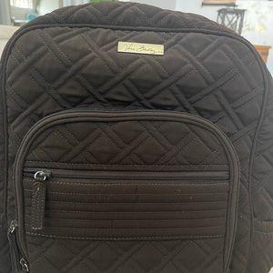 Brown Vera Bradley Backpack